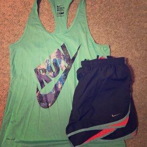Nike Workout Tank & Short
